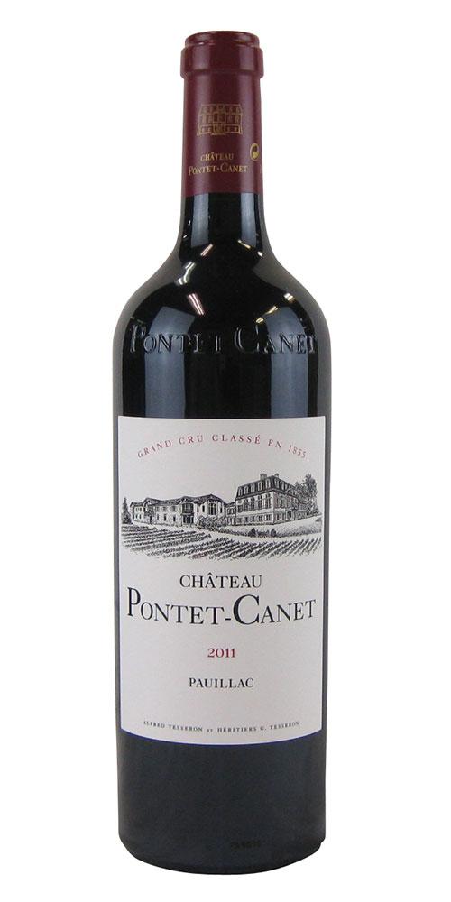 シャトー お気に入り ポンテ 保障 カネ 2011 750ML フランスワイン 赤ワイン