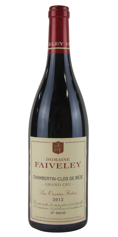 ドメーヌ・フェヴレイ シャンベルタン・クロ・ド・ベズ 特級畑 レ・ズーヴレ・ロダン 2012 750ML (フランスワイン)(赤ワイン)