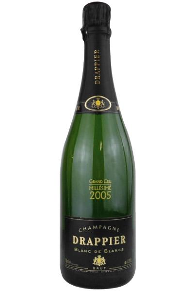 ドラピエ ブラン・ド・ブラン グラン・クリュ ミュレジム 2005 750ML (フランスワイン)(泡)