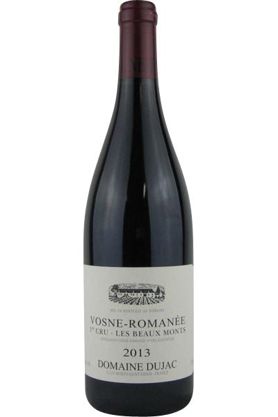 ドメーヌ・デュジャック ヴォーヌ・ロマネ 1級畑 レ・ボーモン 2013 750ML (フランスワイン)(赤ワイン)