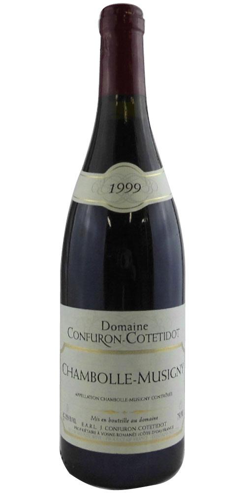 ドメーヌ・コンフュロン・コトティド シャンボール・ミュジニー 1999 750ML (フランスワイン)(赤ワイン)