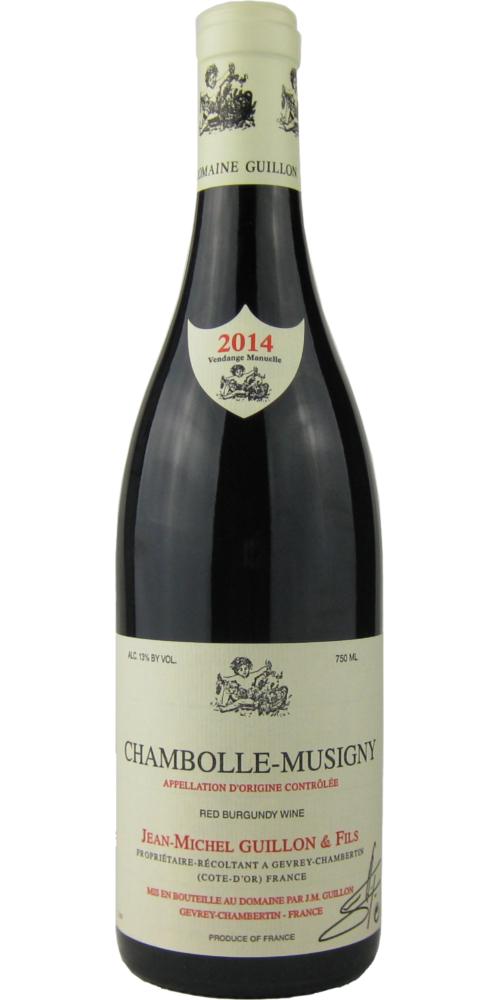 ジャン・ミッシェル・ギュイヨン シャンボール・ミュジニー 2014 750ML (フランスワイン)(赤ワイン)