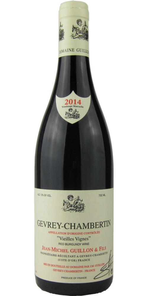 ジャン・ミッシェル・ギュイヨン ジュヴレ・シャンベルタン ヴィエイユ・ヴィーニュ 2014 750ML (フランスワイン)(赤ワイン)
