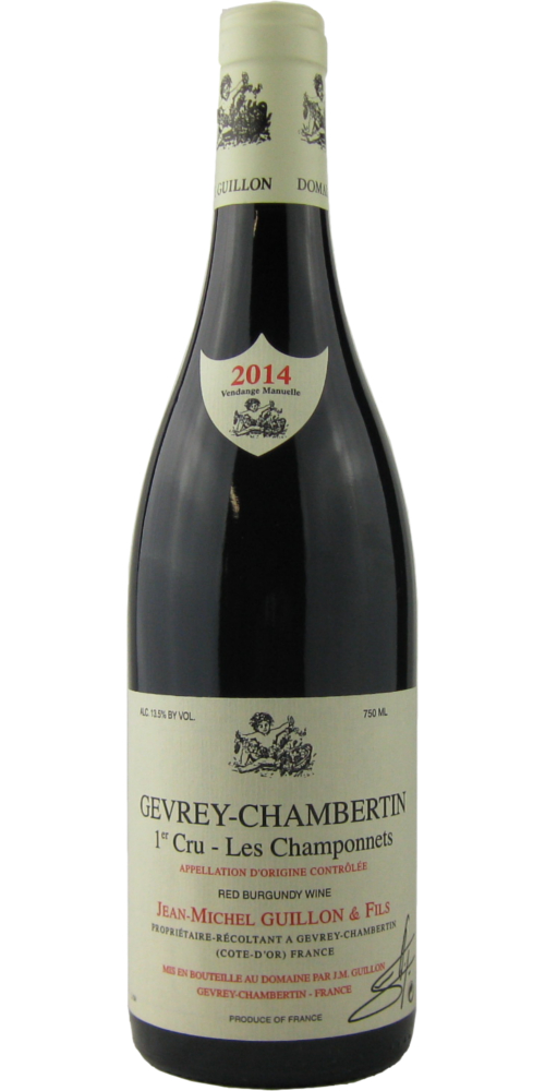 ジャン・ミッシェル・ギュイヨン ジュヴレ・シャンベルタン 1級畑 レ・シャンポネ 2014 750ML (フランスワイン)(赤ワイン)