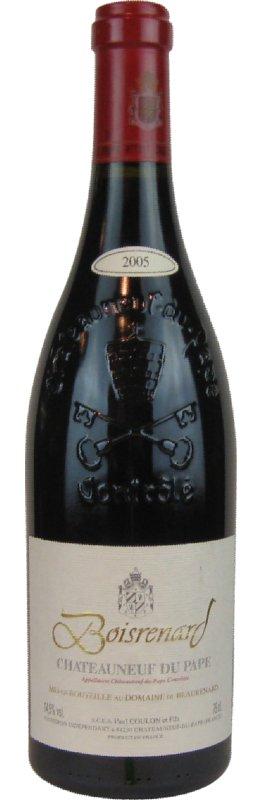 ポールナール ヌフ・デュ・パブ キュベ【2005】フランスワイン(赤ワイン)750ml~neuf du Pape Cuvee Boisrenard~