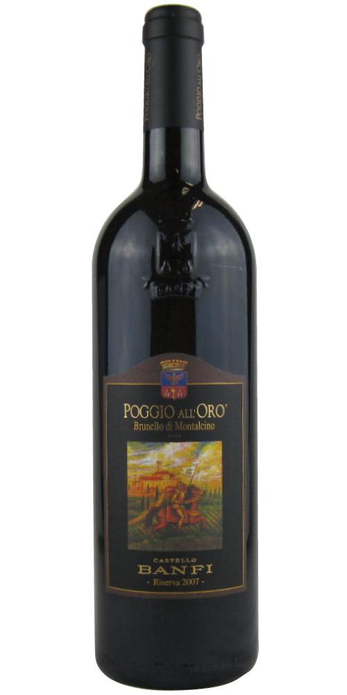 バンフィ ポッジョ・アローロ ブルネッロ・ディ・モンタルチーノ リゼルヴァ 2007 750ML (イタリアワイン)(赤ワイン)