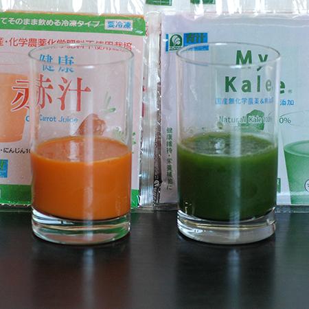 直送商品/代引不可/同梱不可 マイケール90(冷凍青汁)(90ml×60パック)