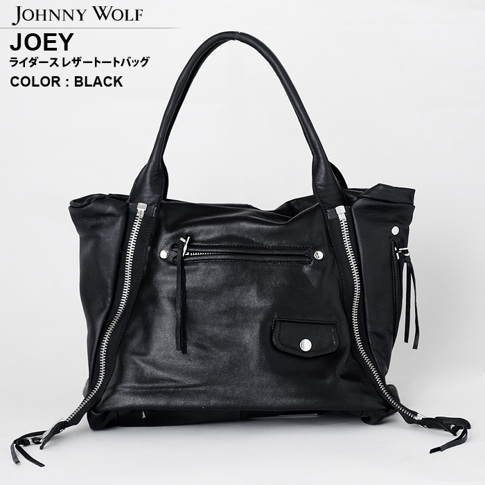 JOEY GOAT【ジョーイ】ライダース レザー トートバッグ JOHNNYWOLF(ジョニーウルフ)