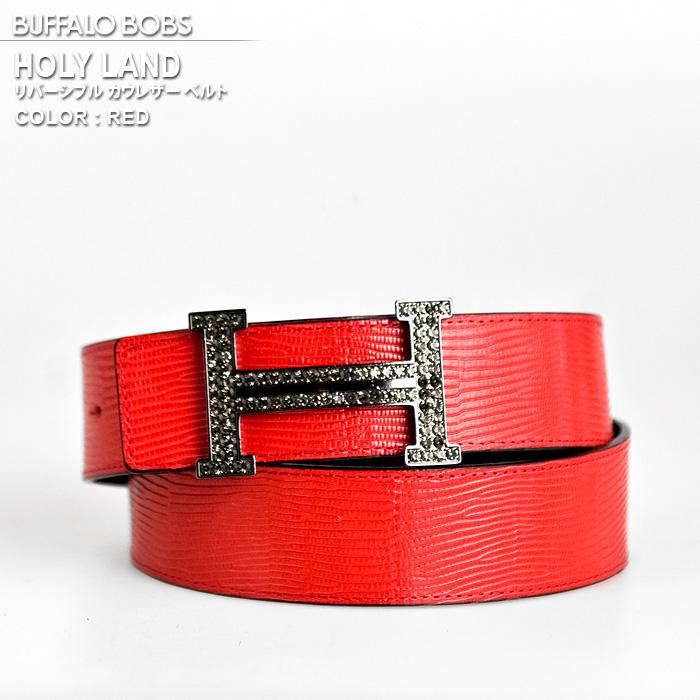 85d535eb54 Rhinestone reversible belt HOLY LAND (Chinese holly land) BUFFALO BOBS  buffalo Bob's