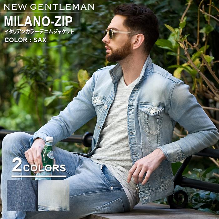 BUFFALO BOBS バッファローボブズ MILANO ZIP(ミラノ ジップ) 3rdタイプ イタリアンカラーデニムジャケット