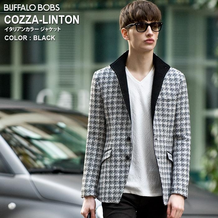 BUFFALO BOBS バッファローボブズ COZZA-LINTON(コッザ-リントン)イタリアンカラー ジャケット