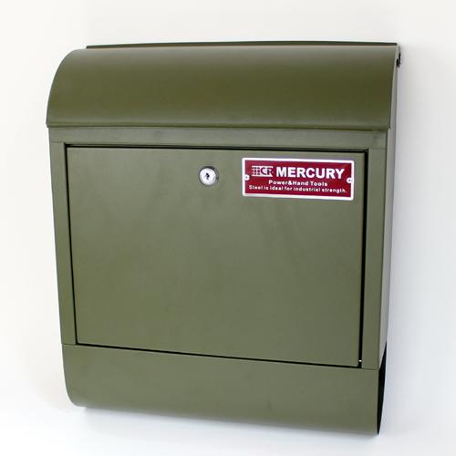 MERCURY 머큐리 MCR Mail Box 우편 포스트 매트 올리브