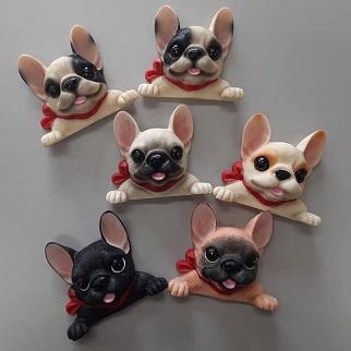 frenchbulldog 新作 日本メーカー新品 3Dスイッチステッカー 貼り付け場所は自由に楽しめる フレンチブルドッグ ブリンドル 数量は多 クリーム フォーン パイド