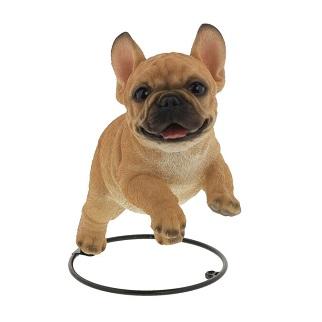 オーナメント ついに入荷 動物 犬 インテリア 雑貨 dog ガーデン雑貨 置物 超目玉 インテリア雑貨 フレンチブルドッググッズ ガーデニング ジャンプフレンチブル 可愛い フレンチブルドッグ ガーデン ピック付き