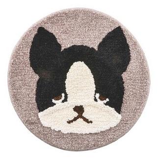 frenchbulldog フレンチブルのブブル マット Mサイズ 安心の定価販売 訳あり パイド プレミアムねむねむアニマルズ フレンチブルドッグ