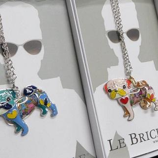 高額商品につきレターパックプラス520円対応 イタリアブランド パグ ネックレス LE BRICIOLE PUG 流行のアイテム 母の日 ギフト ホワイトデー プレゼント いぬ ※ラッピング ※ 成人祝い 犬 卒業祝い 大切な人へ イヌ