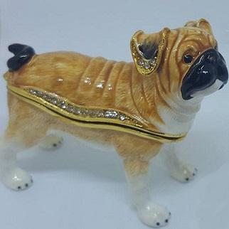 パグマニア必見 母の日 プレゼント ギフト 完全送料無料 ジュエリーケース pug 超定番 犬 パグ イヌ いぬ