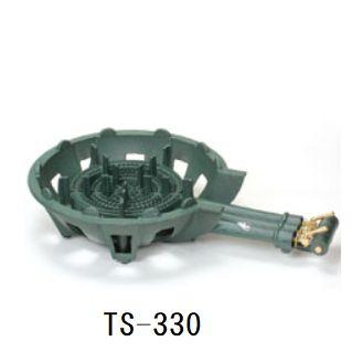 送料無料!鋳物ガスコンロセット 三重(種火なし)[TS-330]
