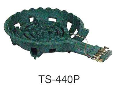 送料無料!鋳物ガスコンロセット 四重(種火付)[TS-440P]