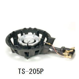 送料無料!ハイカロリー鋳物ガスコンロセット二重羽なし(種火付)[TS-205P]