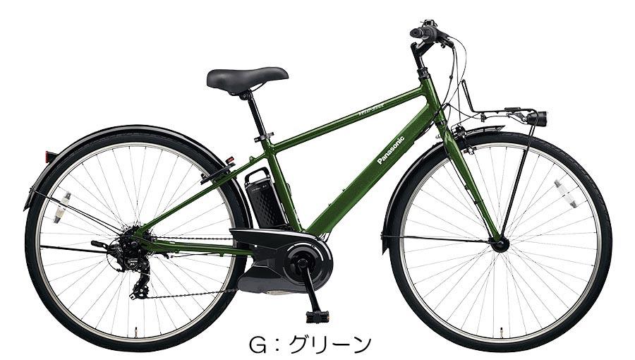 2020年モデル 防犯登録サービス! 8.0Ahバッテリー搭載!パナソニック (Panasonic) ベロスター(VELO-STAR) クロスバイク 電動自転車 (BE-ELVS772) 完全組み立て済 激安
