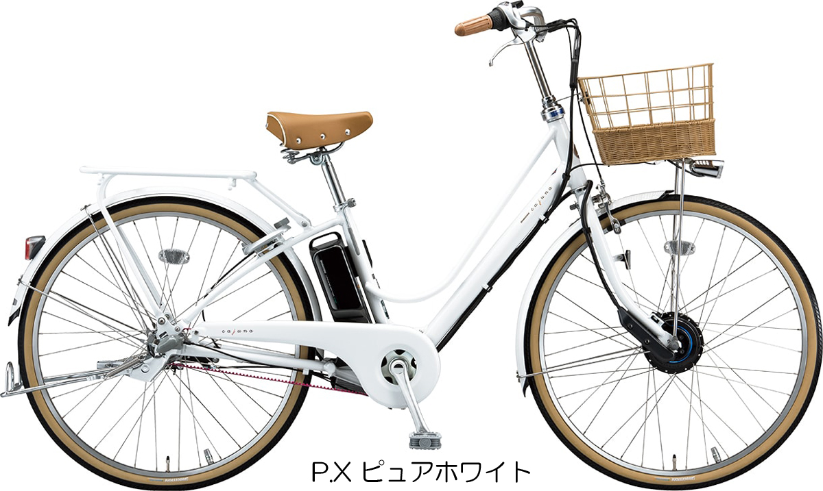 【2020年モデル】【ブリヂストン】【電動自転車】カジュナe スイートライン