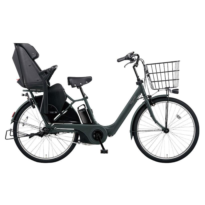 自転車購入で防犯登録付 パナソニック 電動自転車 子供乗せ ギュット アニーズ 購入 デラックス DX ELAD632 ぎゅっと プレゼント ギュットアニーズdx26 26