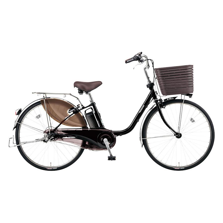 自転車購入で防犯登録付 新作多数 Panasonic パナソニック 2020年モデル 電動自転車 公式通販 ViVi DX ビビ 26インチ デラックス 大容量 標準装備モデル 高身長 ELD636
