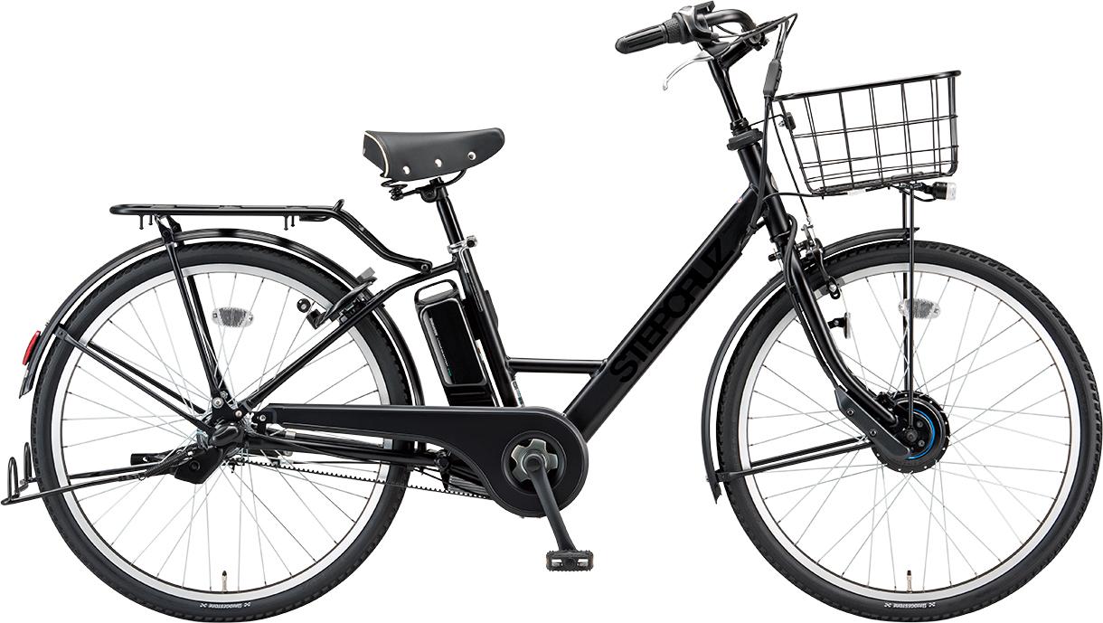 自転車購入で防犯登録付 BRIDGESTONE ブリヂストン 電動自転車 ステップクルーズ e SALE開催中 T.Xクロツヤケシ おトク ST6B41-BK 防犯登録付 26インチ 2021年モデル