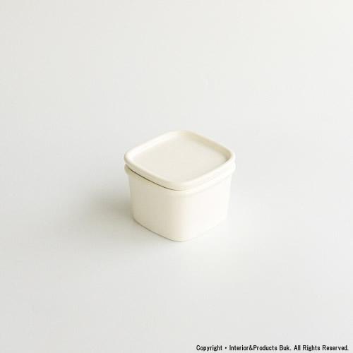 スタッキング可能な陶器 半磁器 の保存容器 ハーベスト 1着でも送料無料 キャニスター ホワイト セラミックジャパン 格安激安 ceramic japan SS