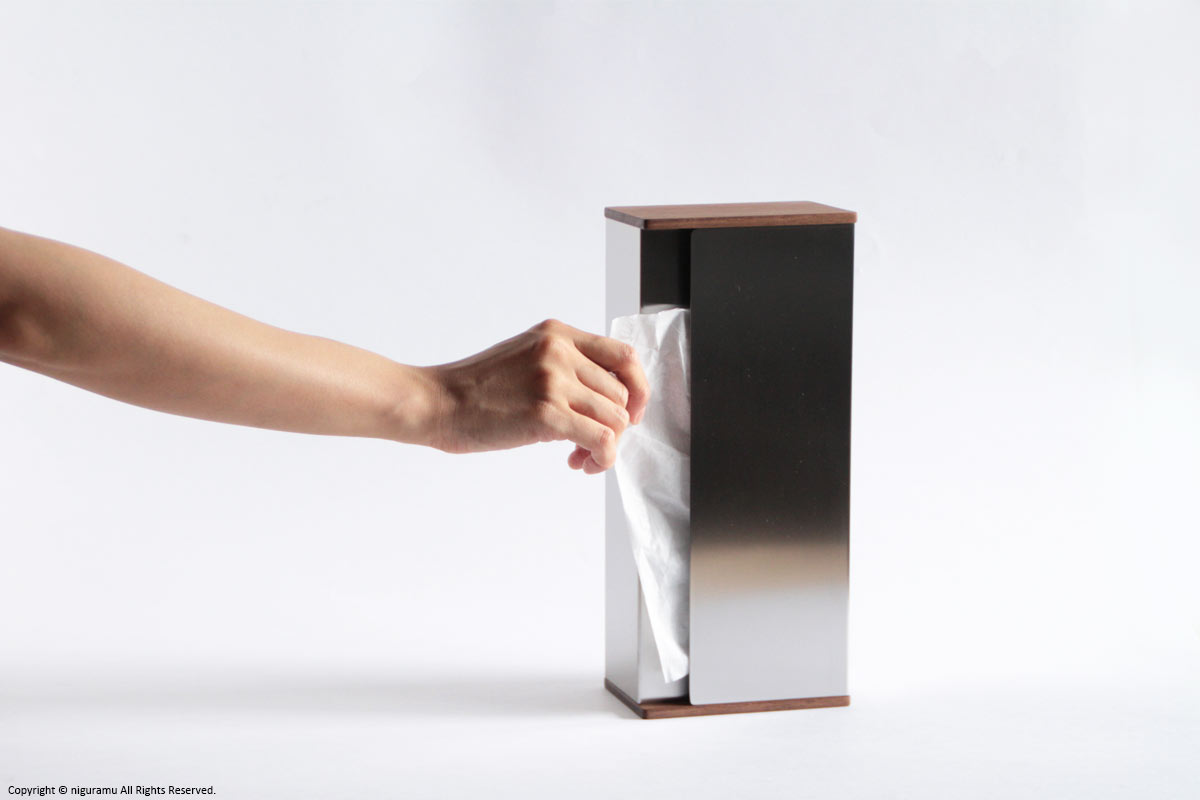 Niguramu Rakuten Global Market Tissue Box Walnut Fs3gm