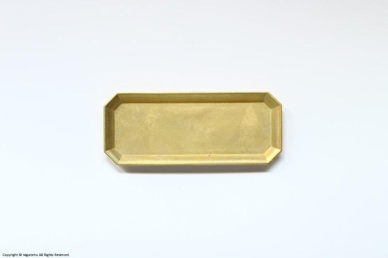 ファッション通販 真鍮鋳物の文具トレイ 新品 文具トレイ 大 鋳肌 FUTAGAMI フタガミ