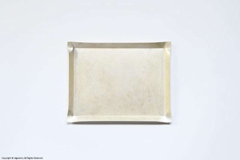 tone, tray_square M / シルバー【momentum factory orii / モメンタムファクトリー オリイ】