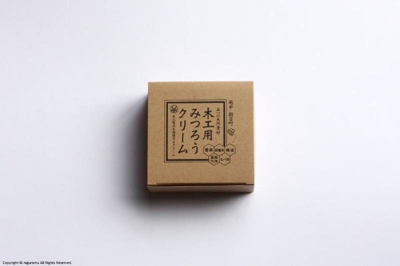 5つの天然素材を独自の加工と配合したメンテナス用蜜蝋ワックス 木工用みつろうクリーム 尾山製材 2020 低廉 新作 200g