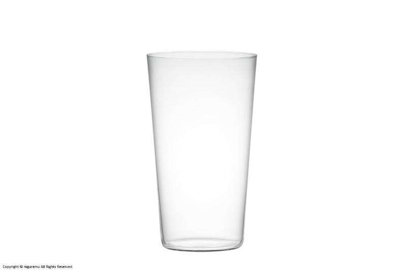 1950年代頃に販売していた極薄一口ビールグラスがデザインの基本になっているサイズが豊富なコンパクトシリーズ 在庫処分 バリウムクリスタル製 コンパクト 木村硝子店 タンブラー 激安卸販売新品 18oz