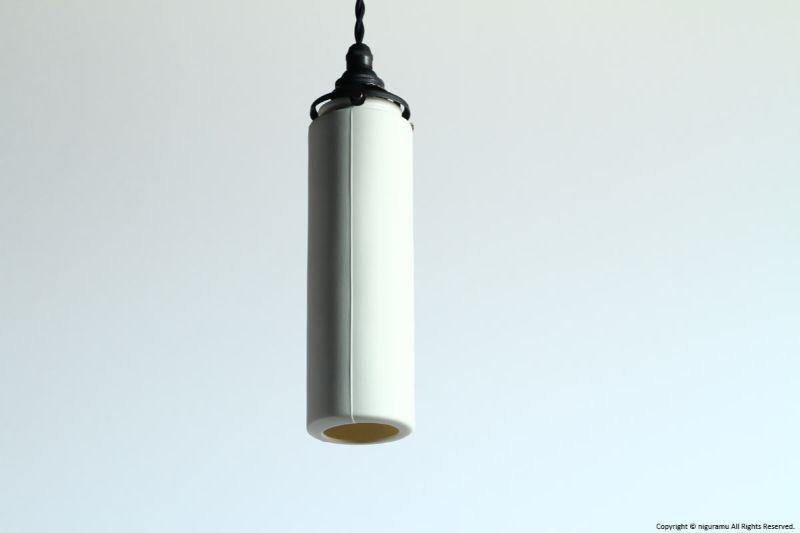 ランプシェード Stick S, Odd line #3 (open) / ホワイト (シェードのみ/灯具別売り)【代引き不可】【飛松灯器(旧:飛松陶器)】