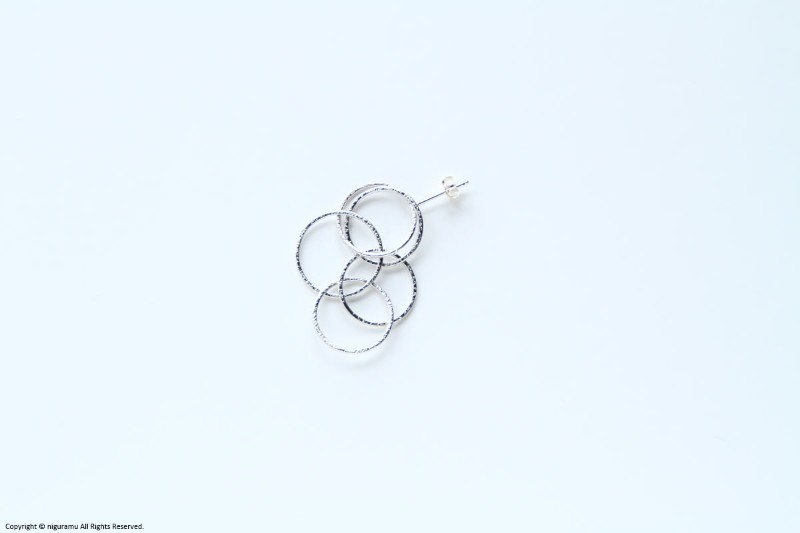 Bubbles earring / SV【erica miyake / エリカミヤケ】