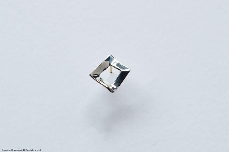 Shapes earring, Square【unik】