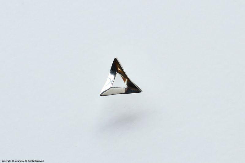 Shapes earring, Triangle【unik】