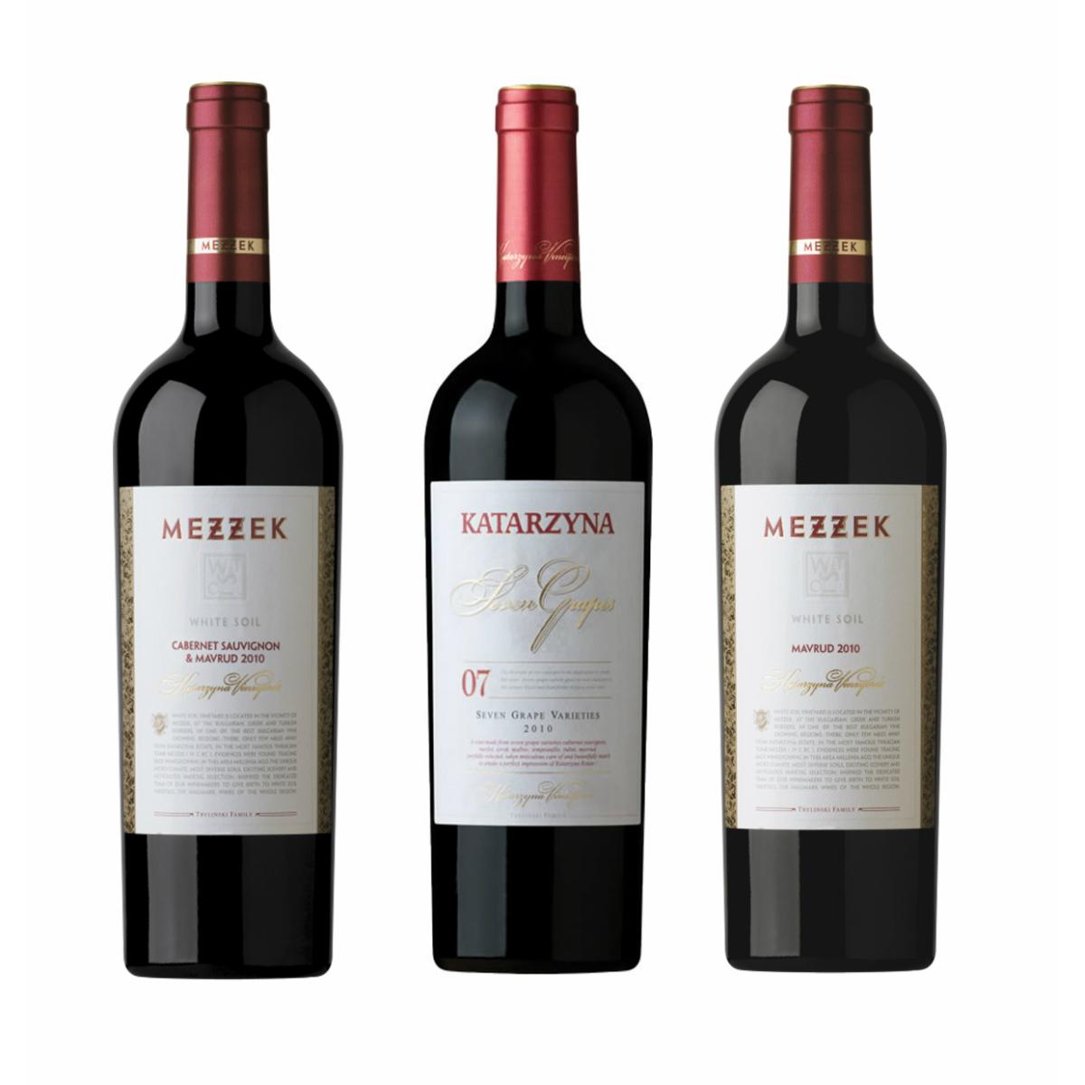 赤 ワインセット カタルジーナ ブルガリアトップワイナリー カタルジーナエステイト1番人気の古代品種マヴルッドを含んだ赤3本セット テレビで話題 ヨーロッパ ブルガリア産 欧州 3本組 送料無料 おすすめ ブルガリアワイン 固有品種赤セレクト 750ml 赤ワイン カベルネソーヴィニヨン セブングレイプス セット ワイン プレゼント メゼック マヴルッド 3本セット ヨーロッパワイン 贈り物 フルボディ 5%OFF