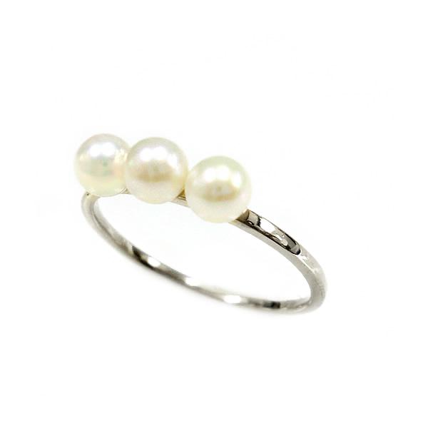 自分へのご褒美 プレゼント お祝い 記念日 パール 真珠 リング 価格 指輪 ゴールド 新作製品 世界最高品質人気 細身 華奢 WG K18 PG 送料無料 淡水真珠