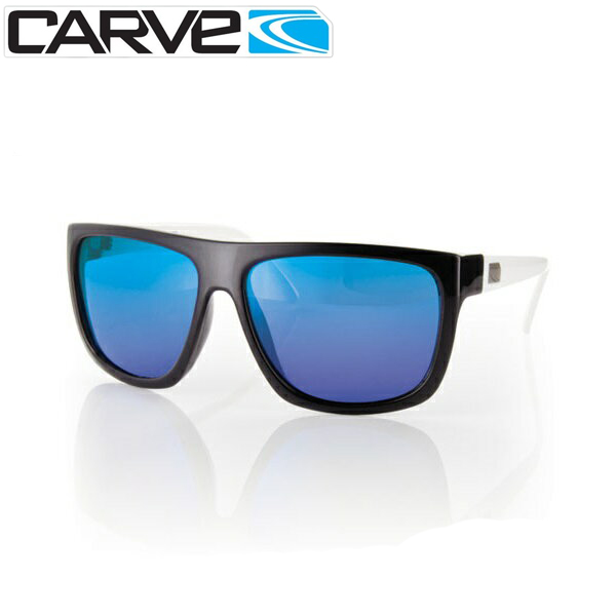 ブルズサーフ サングラス 偏光 メンズ CARVE SANCHEZ POLA Revo 品質検査済 高品質新品 ミラーレンズ BK WHT 偏光レンズ