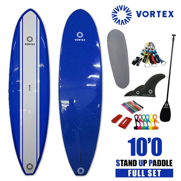 スタンドアップパドルボード 10'0 青●フルセット【VORTEX】 SUP パドルサーフィン