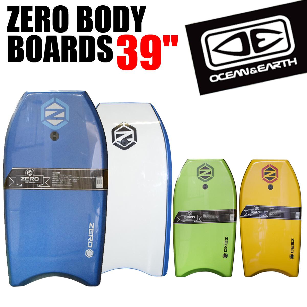ブルズサーフ 【サーフィン ボディボード】 メーカー直送 日時指定不可 オーシャンアンドアース ボディボード 39インチ 99cm EPS サーフィン O&E ZERO BODY BOARDS 39