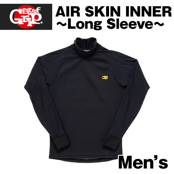 【SURF GRIP】AIR SKIN INNER ロングスリーブ 男性用●高断熱・保温蓄熱・防水機能【希望小売価格の20%OFF】