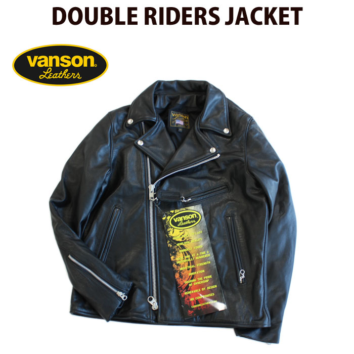 高級素材使用ブランド 【VANS】ON RAW,THE JACKET バンソン ダブルライダースジャケット DOUBLE RIDERS RIDERS JACKET:b.m.p, マルサンのりオンラインショップ:b236c9f3 --- nagari.or.id