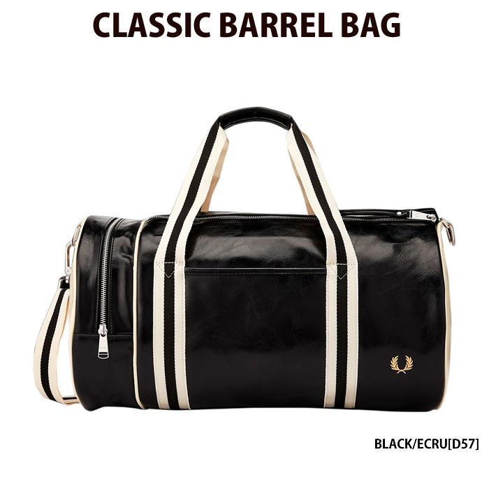 フレッドペリー 【FRED PERRY】 ショルダーバッグ CLASSIC BARREL BAG