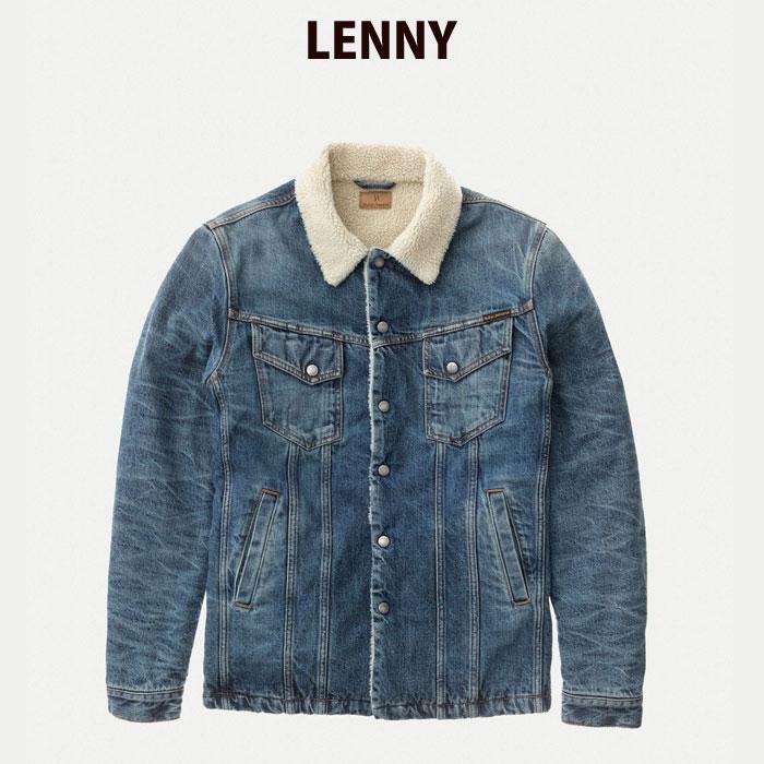 ヌーディージーンズ/Nudie Jeans デニムボアジャケット LENNY FAVOURITE SHADE【あす楽対応商品】