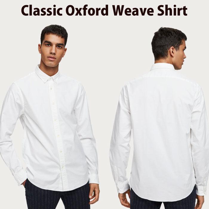 スコッチ&ソーダ/SCOTCH&SODA 長袖シャツ CLASSIC OXFORD WEAVE SHIRT【あす楽対応商品】