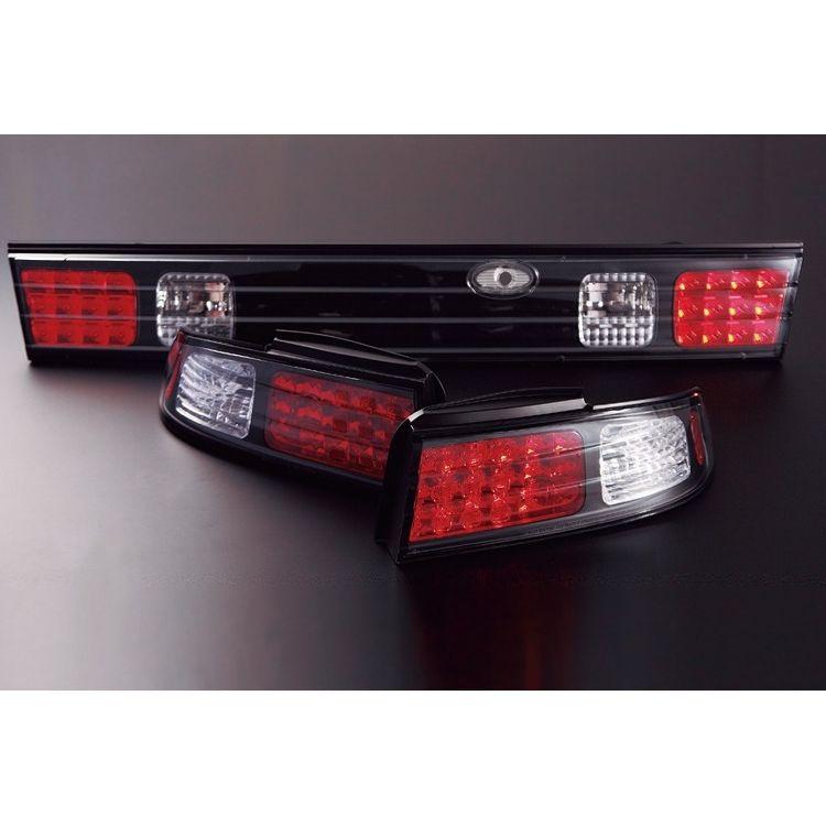 S14 LEDテールランプ ガーニッシュ単品 スーパーSALE セール期間限定 D-MAX ブラック 全品最安値に挑戦
